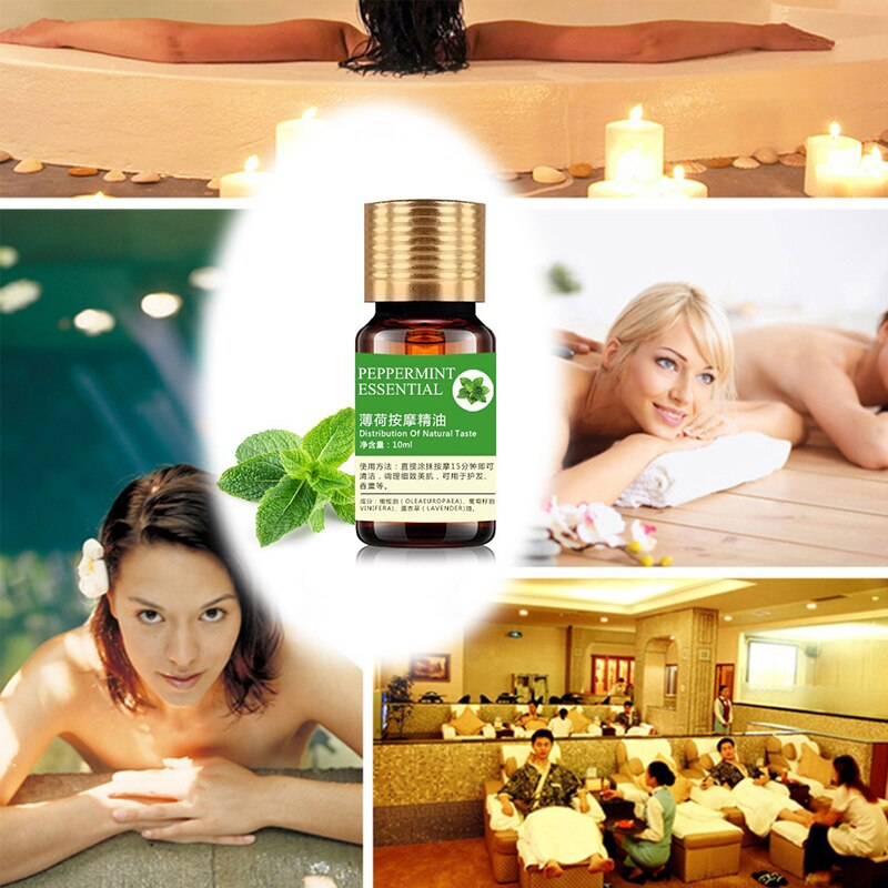 10ml Essential Oil Organic Body Relax Skin Care Help Sleep For Aromatherapy Diffusers Pure Essential