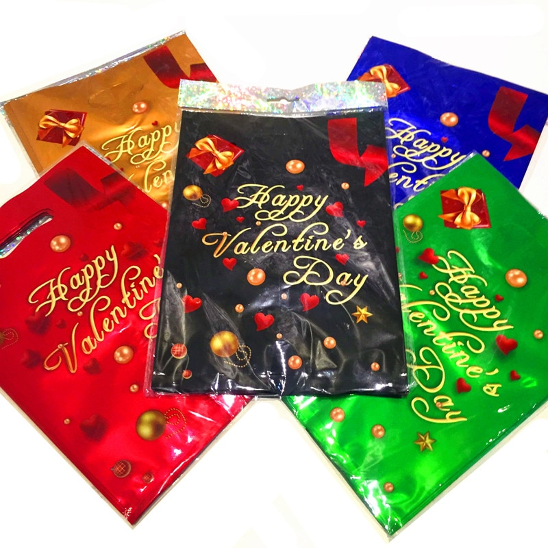 10 pçs saco da folha para o presente 17x25cm doces sacos de embalagem dia dos namorados amor casamento noivado festa de casamento presente embrulho
