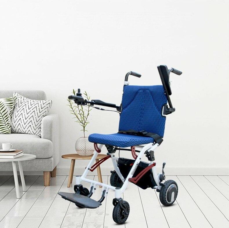 2019, envío gratis, nuevo diseño, ultra ligero, peso neto, 18kg, plegable, bonita silla de ruedas eléctrica
