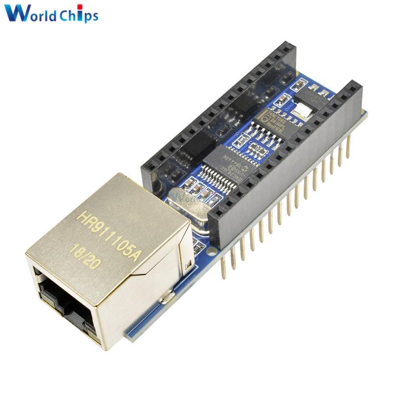 Nano V3 Ethernet щит ENC28J60 микрочип HR911105A Ethernet �