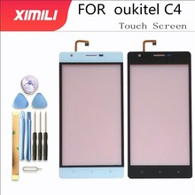 Touch Screen Glass For Oukitel C4 Touch Screen Glass Digitizer Panel Glass Sensor Replacement Mobile