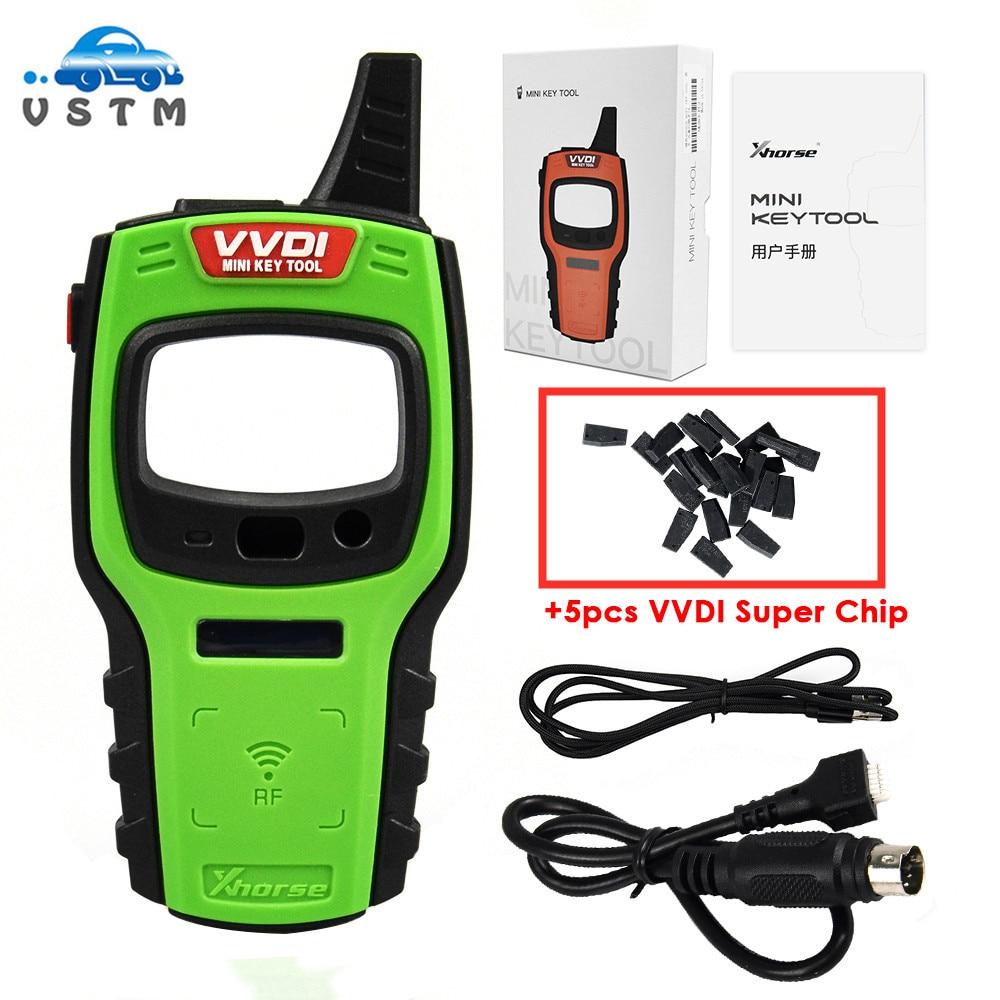 Original Xhorse VVDI Mini Key Tool Programmer EU/US Version Support IOS and Android with VVDI46/VVDI4D/VVDI48/VVDI Super Chip