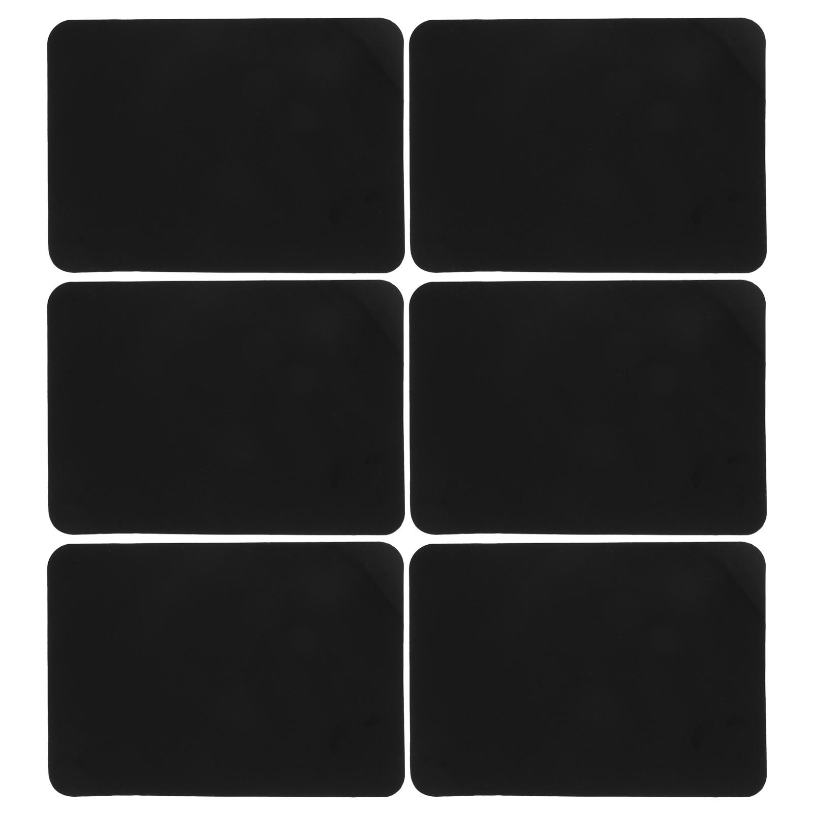 6 шт. стираемые доски, рекламные доски, ПВХ, цена, доски, черные доски