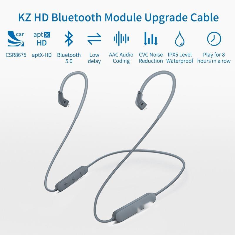 Bluetooth Module Earphone 5.0 Wireless Upgrade Cable Applies ASX AS10ZSTZSNProZS10Pro/AS16/ZSX enlarge