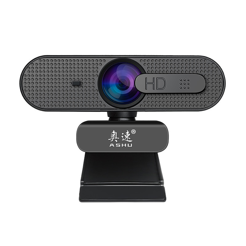 Webcam autofokus 1080P HD kamera mit mikrofon USB chat video ASHU H606