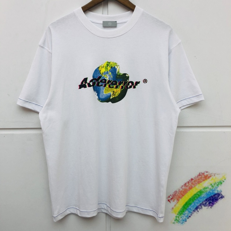 Camiseta de avistaje de error de calidad superior para hombres y mujeres, Camiseta de algodón con diseño de tema de tierra, camiseta de error