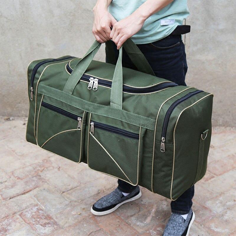 Bolso de viaje multifuncional impermeable para hombre, bolso de viaje de gran capacidad de diseño lujoso, bolso de fin de semana, bolso de noche XA169K