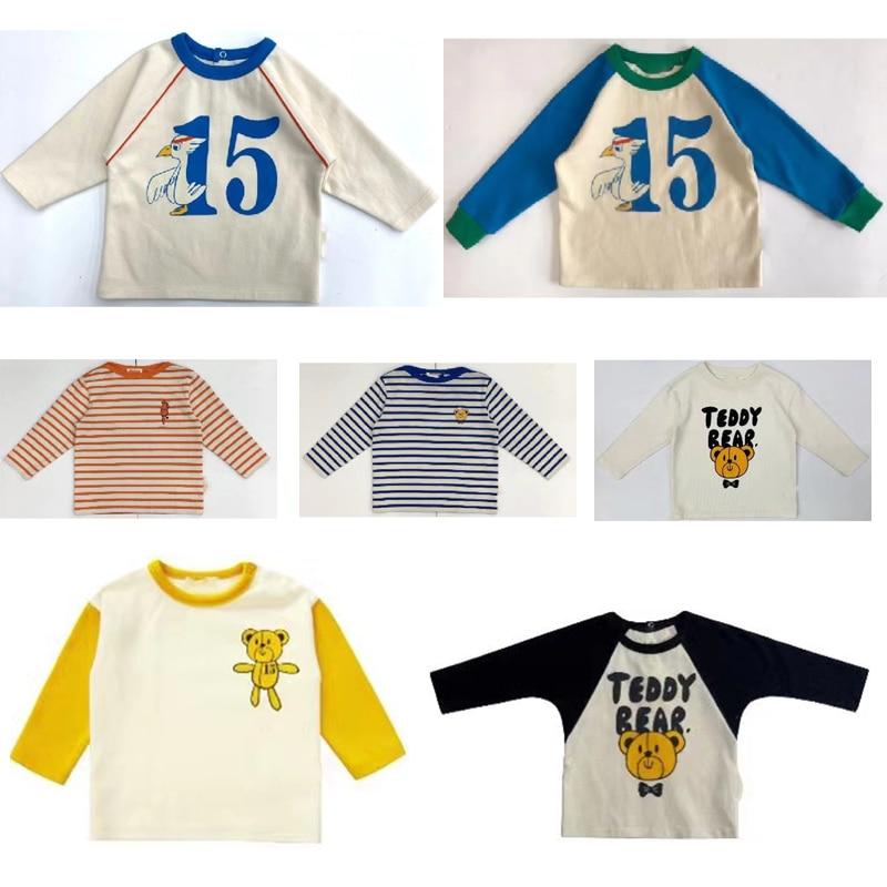En Stock, 2020, Tops de manga larga para niños, ropa suave a la moda de Acción de Gracias para Niñas Grandes, ropa Top para niñas pequeñas