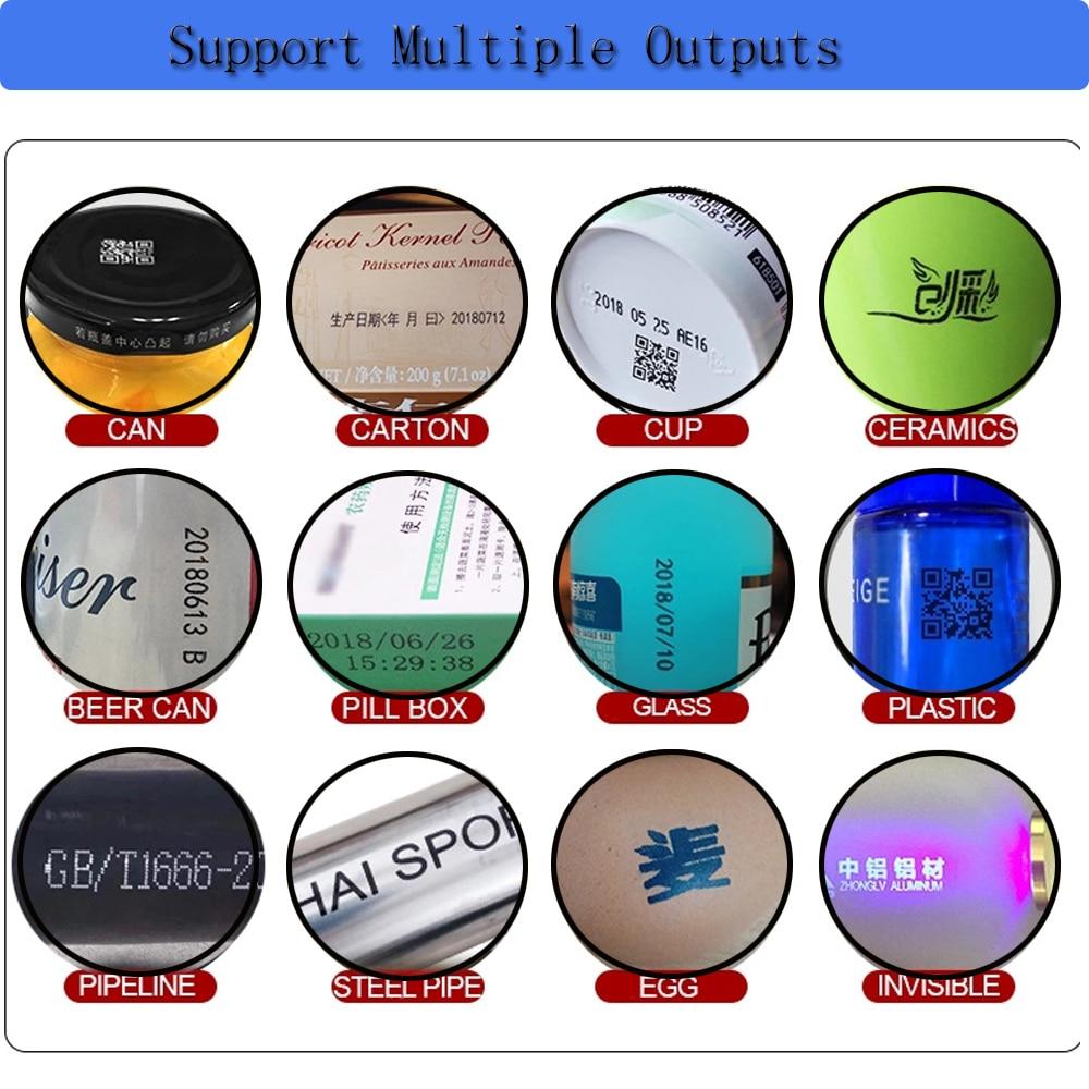 Купить с кэшбэком 4.3 Inch Touch Screen Portable Inkjet Printer Date/QR Code /Label Printer Inkjet Machine USB Handheld Inkjet Printer