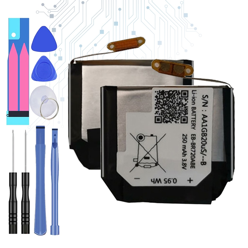 EB-BR720ABE 250mAhReplacement Battery For Samsung Gear S2 S 2 Classic R732 BR720