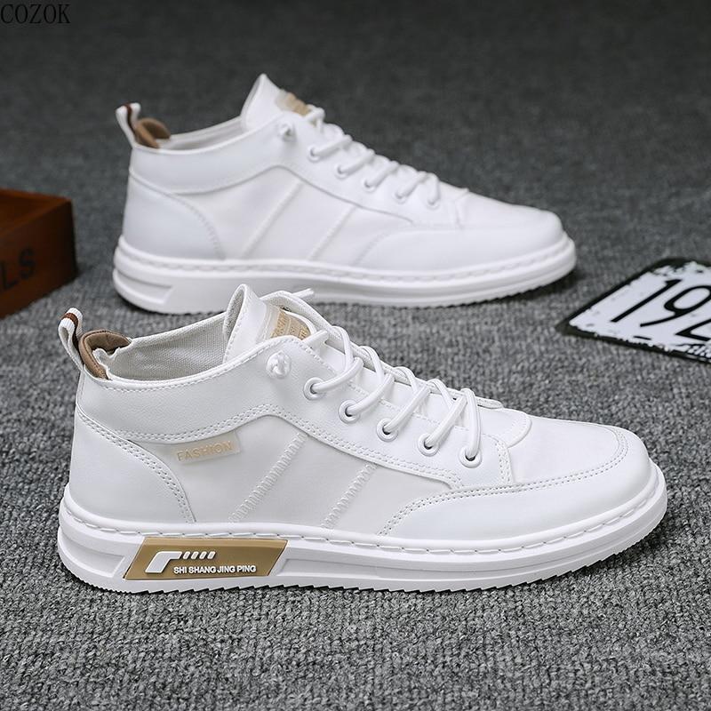 Students white shoe Classic Canvas Shoes Men Vulcanized Sneakers 2021 Fashion School Boys Sport Snea