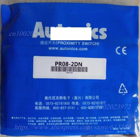 Interruptor de Proximidad Garantía de un Pr08-1.5dp Autônica Sensor Novo Alta Calidad Año 5 Uds Pr08-2dn Pr08-1.5dn Pr08-2dp