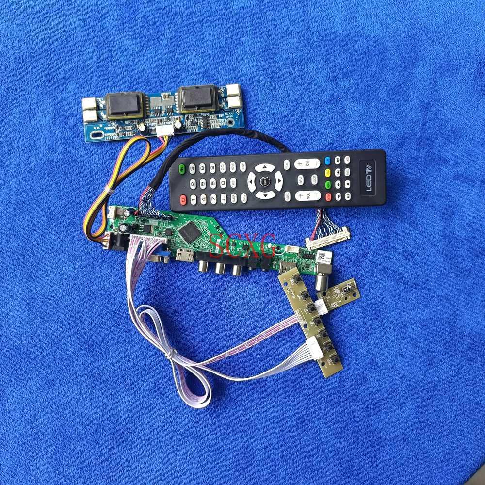 ل HSD190MGW1/HT190WG1/LM190WX1 عدة شاشة الكريستال السائل محرك مجلس 1440*900 HDMI-متوافق VGA AV USB LVDS 30 دبوس التناظرية إشارة 4CCFL