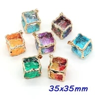 1pc natural stone pendants reiki heal 7 chakras energy crystal for charm jewelry making diy amulet necklace accessories