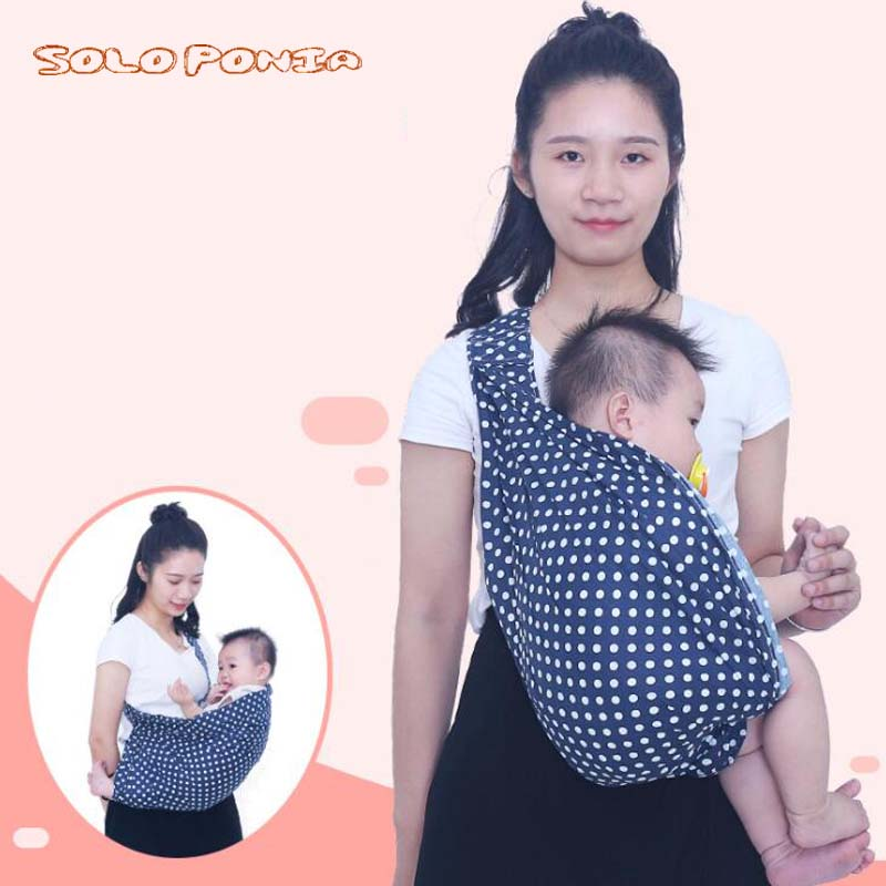 0-3Y Baby Carrier Sling For Newborns Soft Infant Wrap Breathable Wrap Hipseat Breastfeed Birth Nursing Cover Backpack 5956