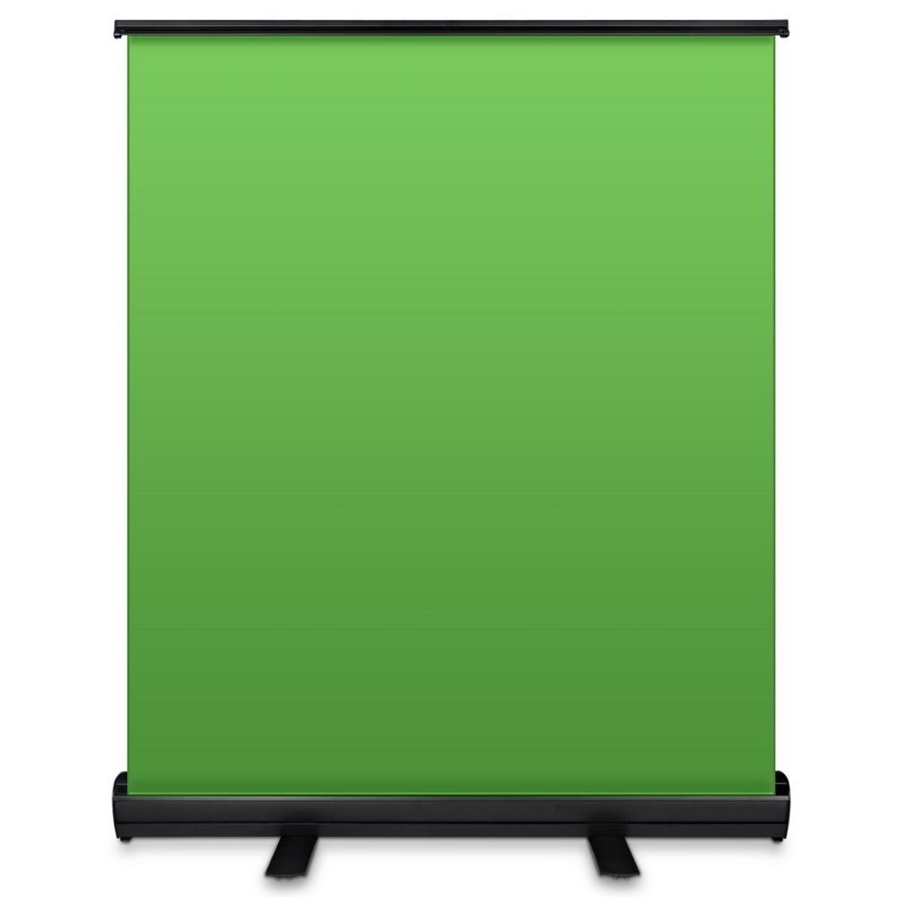 Portátil plegable Chromakey Panel telón de fondo 110*200cm Pull Up resistente a las arrugas fondo de pantalla verde para foto Video en vivo