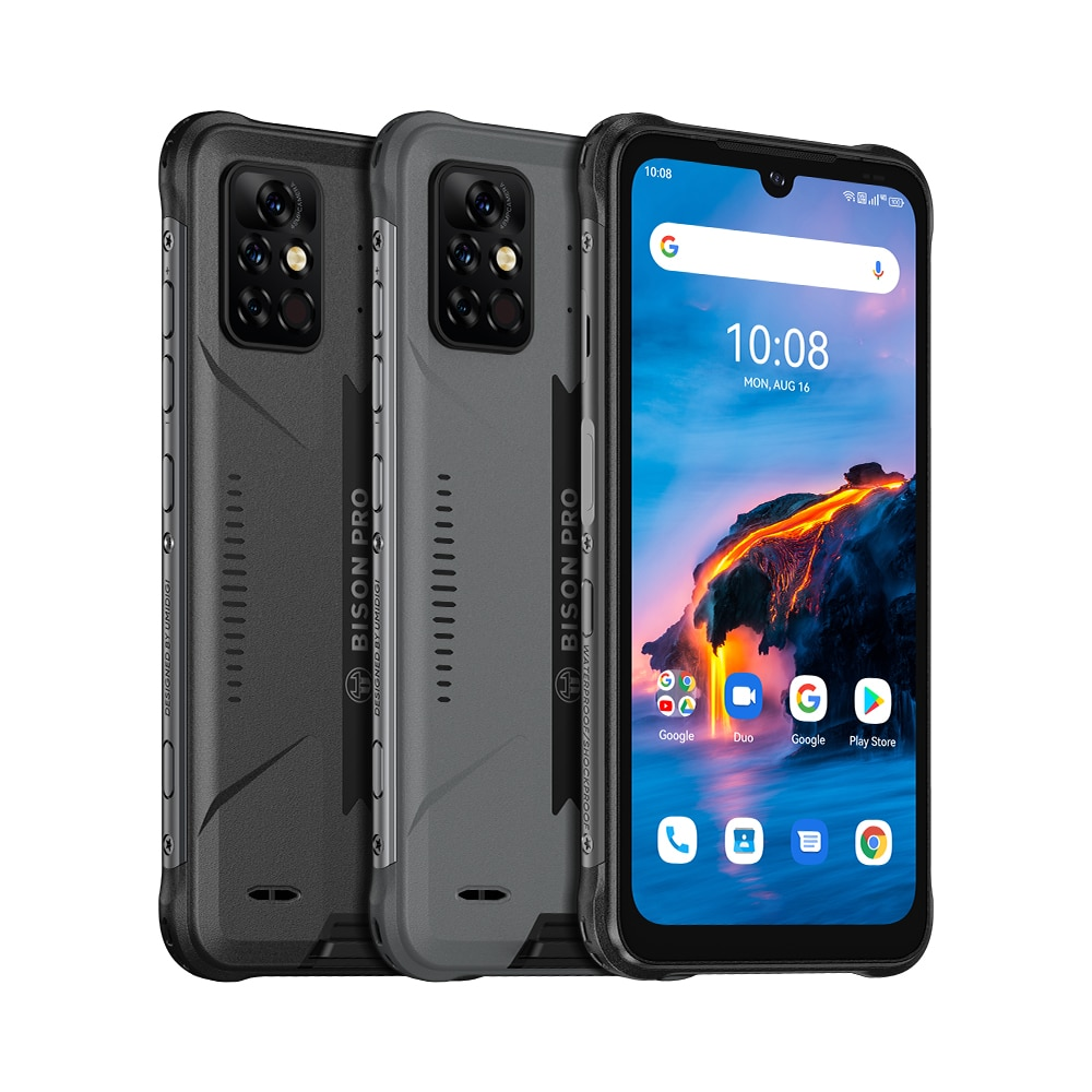 UMIDIGI BISON Pro Android 11 Smartphone 128G ROM IP68/IP69K MobilePhone Helio G80 48MP Camera Cellphones Global Version 5000mAh