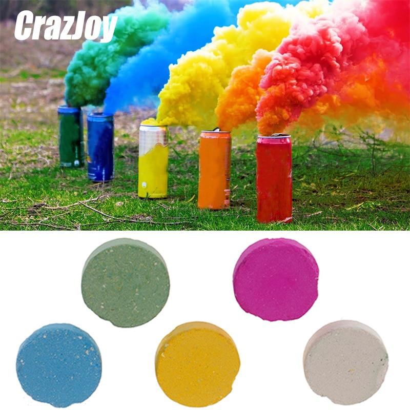 Magic Colored Smoke Tricks Props Fire Tips Fun Toy Pyrotechnics Smoke Cake Fog Magician New Professional Pocket items