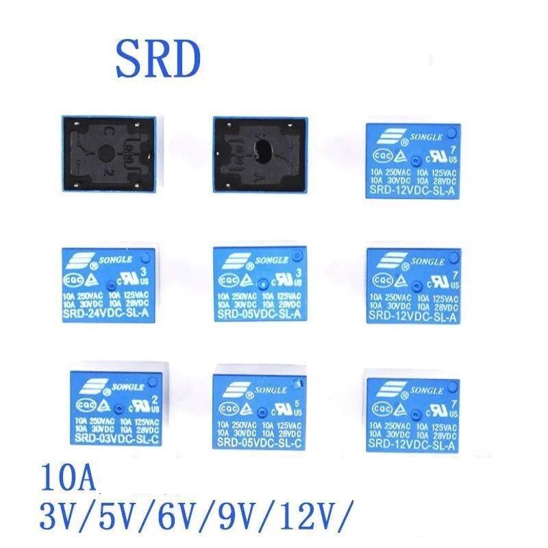 g7sa 3a1b 24vdc safety relays 10PCS/lot Relays SRD-12VDC-SL-C SRD-24VDC-SL-C SRD-05VDC-SL-C 12V 24V 48V 10A 250VAC 5PIN T73