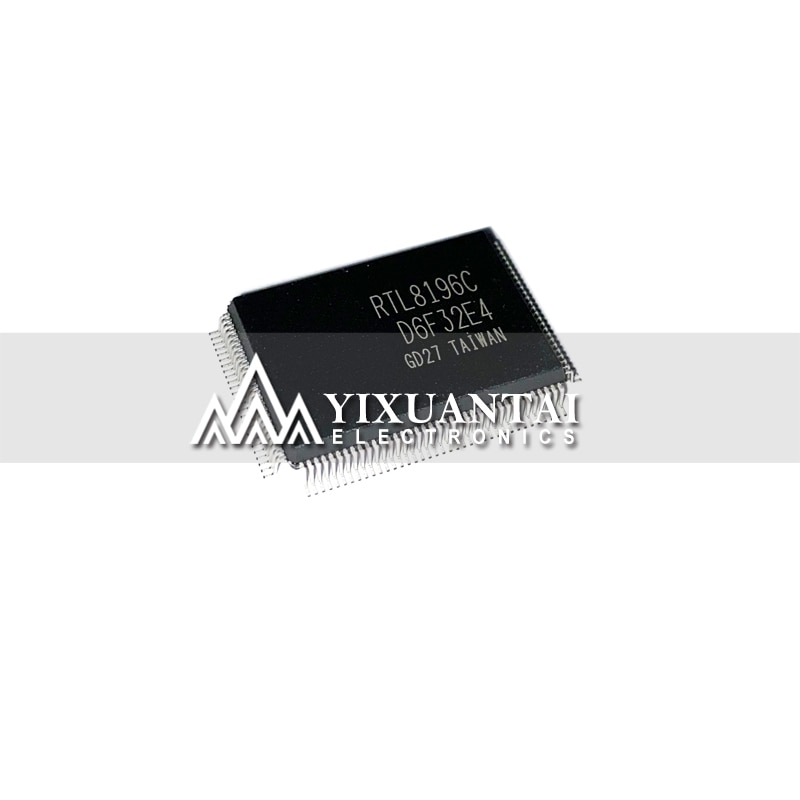 1pcs/lot  RTC8196   RTL8196C    RTL8196C-GR   wireless router chip    QFP128   100%NEW and ORIGINAL