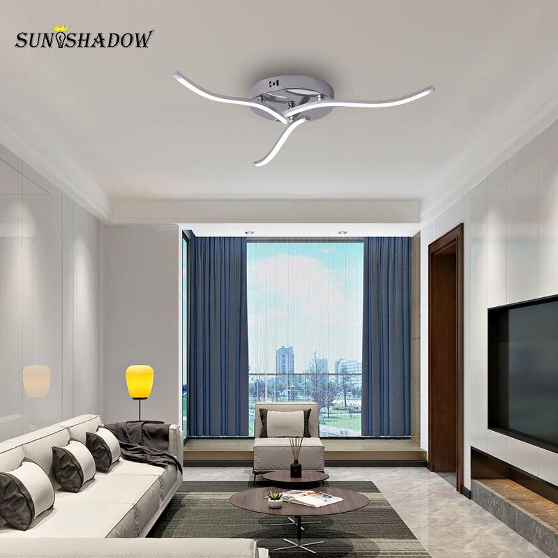 Современный светодиодный потолочный светильник 15 Вт Малый Люстра Потолочный светильник для гостиной, столовой, проход потолочный светильн...