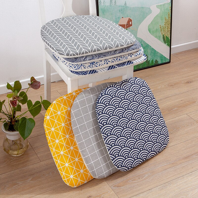 Seat Cushion Thick Nordic Chair Cushions For Bedroom Tatami Buttock Mat Sofa Back Pillow Sample Modern Home Decor 40*40cm/Pc
