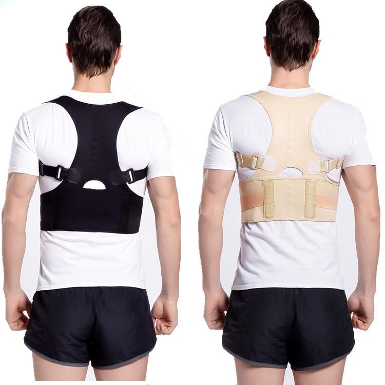 Медицинский Регулируемый Корректор осанки до ключицы для мужчин, мужской бандаж для спины, поддерживающий пояс для плеч и поясницы, корсет ...