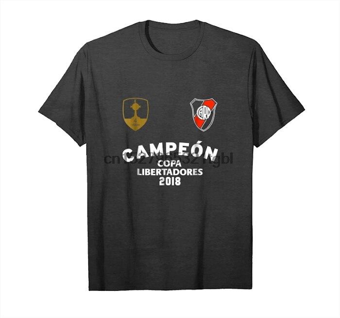 Ahora río Argentina Remera camiseta campeón Libertadores 18 camiseta Unisex
