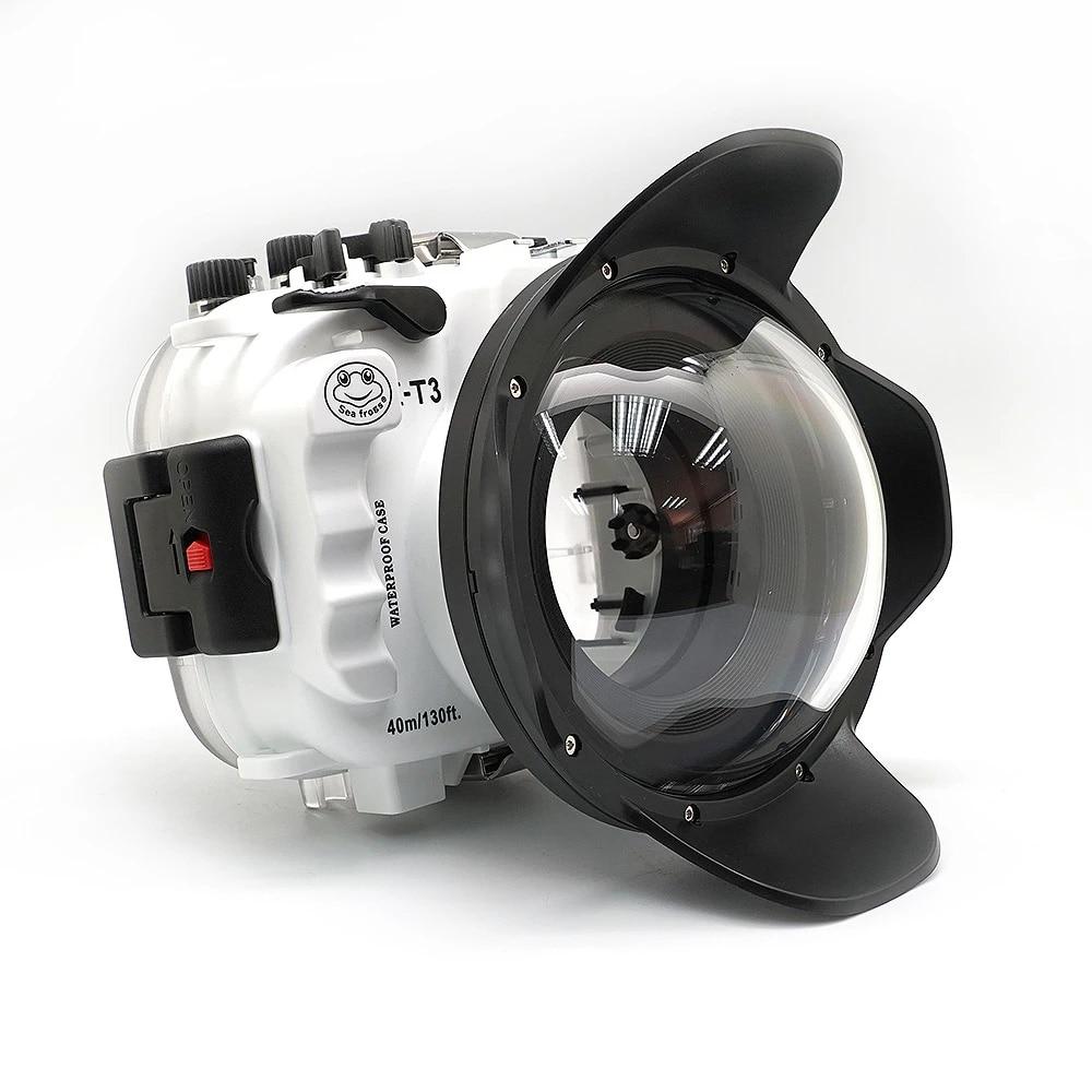 ل Fujifilm X-T3 فوجي XT3 FP.1 حقيبة كاميرا حافظة 130ft/40 متر صندوق مقاوم للماء تحت الماء الإسكان كاميرا الغوص