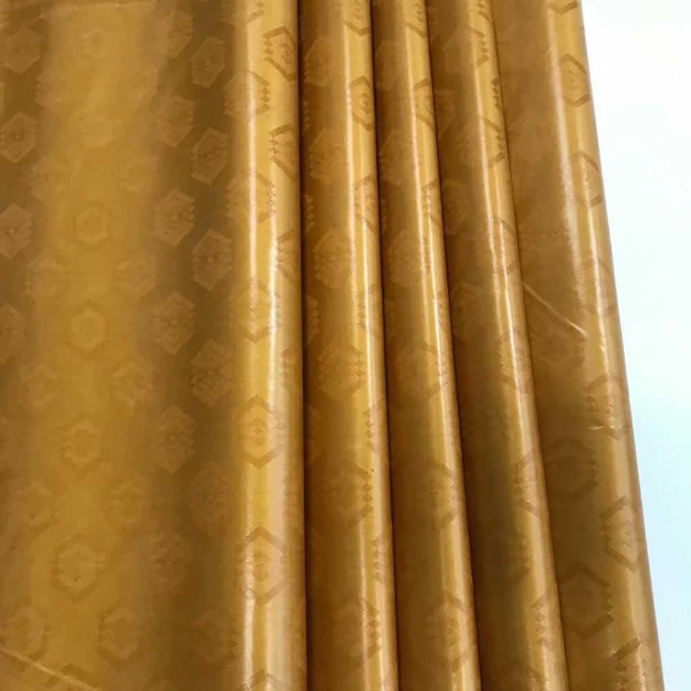Tela africana de alta calidad de 10 yardas, tela dorada bazin riche getzner, tela atiku para cuenca de tela riche getzner, tela jacquard bordada