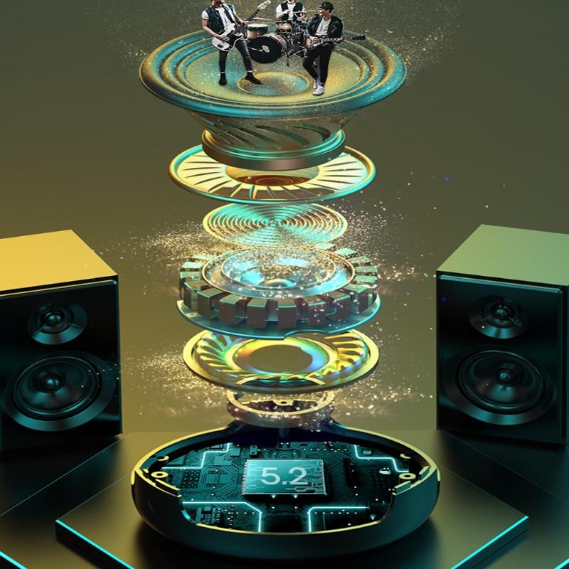 Alarm Clock Bluetooth Speaker MP3 Music Player for Kids,Bedroom,Camping Wireless speaker powerful Soundbar speaker enlarge