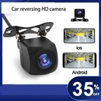12v car rear view camera surveillance reverse camera hd waterproof front camera support android ios