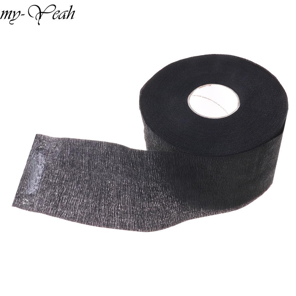 Cuello volante rollo de papel desechable silenciador de papel accesorio de corte de pelo Collar que cubre herramientas de peluquería de uso en salón profesional