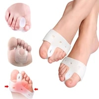 toe separator soft silicone bunion corrector orthopedic toe protectors finger thumb straightener correction tools foot care