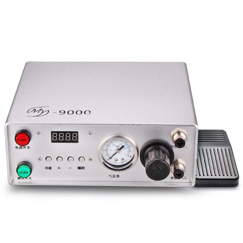 جهاز تحكم عن بعد مع صمام توزيع ، شاشة عرض رقمية ، قضيب غراء عالمي ، 110 فولت ، 220 فولت ، موديل My9000