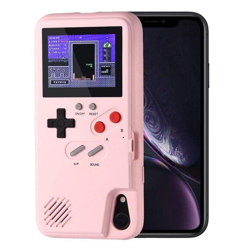 36 Ретро видео игры цветной дисплей телефон чехол для IPhone Gameboy чехол для телефона