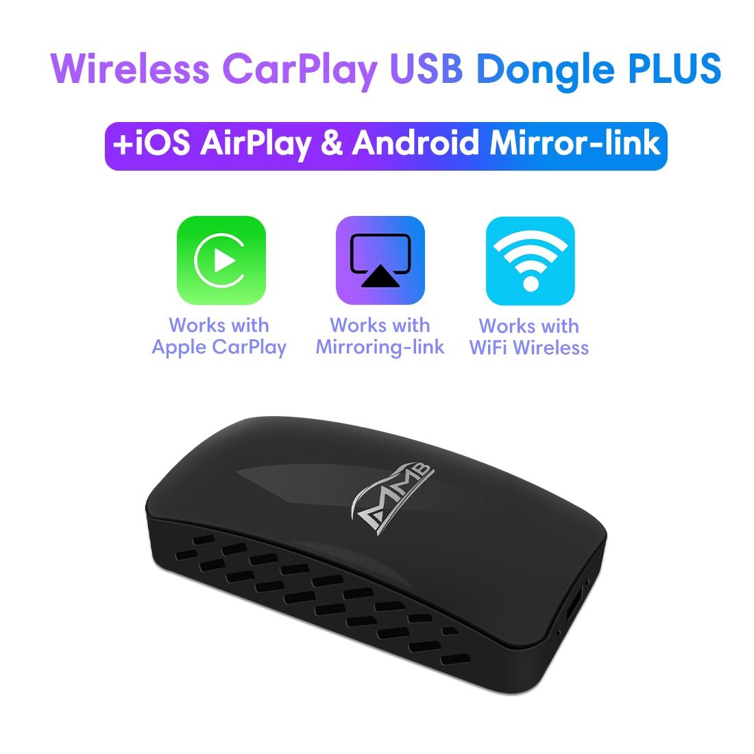 Review MMB USB Wireless Apple Carplay Dongle For Skoda SUPERB KAMIQ KAROQ Kodiaq Car Play Stick TV Wireless Mirrorlink Multimedia Box
