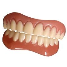 Smile Perfect Top & Bottom Veneer Cosmetic Teeth Cover Silicone Teeth Whitening Braces Braces Teeth