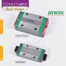 HIWIN EGH15CA Original de Taiwan   MGN9H HGH20CA QEH20CA bloc coulissant, Rail linéaire, roulement pour routeur à bois, Machine Laser