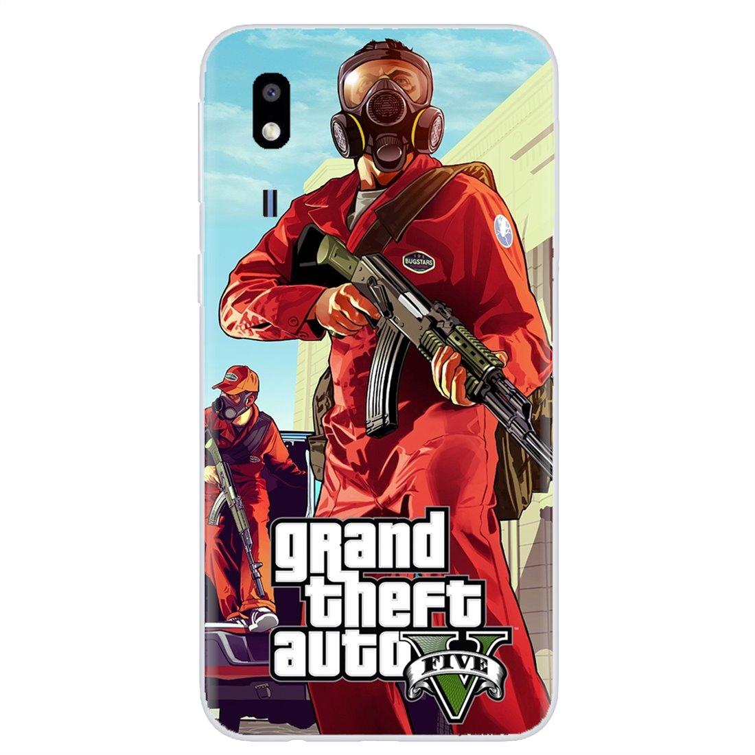 Personalizado caja del teléfono de silicona para Samsung Galaxy J1 J2 J3 J4 J5 J6 J7 J8 Plus 2018 primer 2015 de 2016 2017 GTA Grand Theft Auto