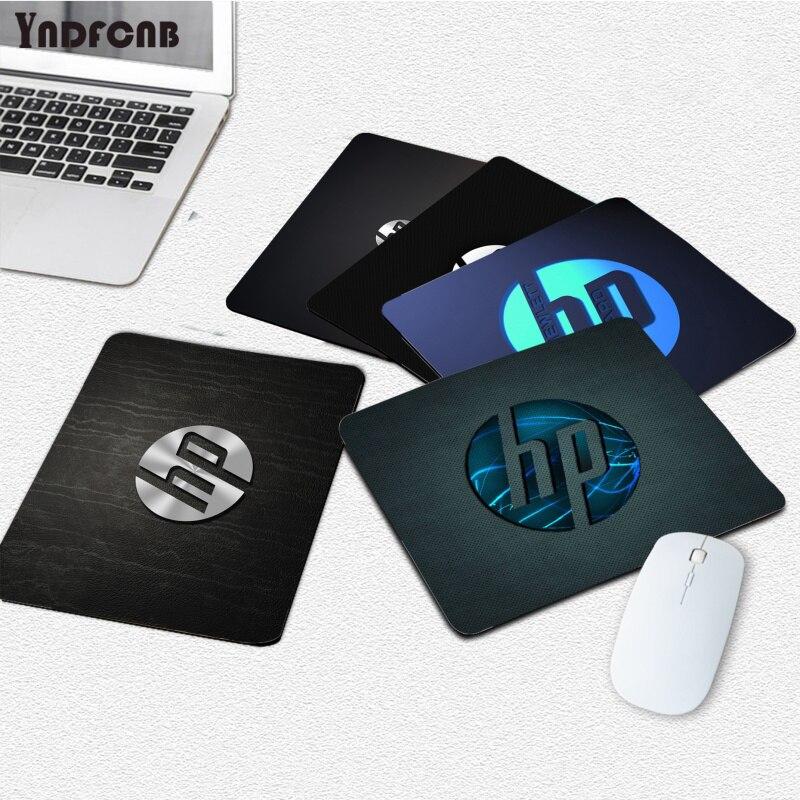 YNDFCNB Новые поступления HP логотип Противоскользящий прочный силиконовый компьютерный Гладкий коврик для письма настольные компьютеры мате ...