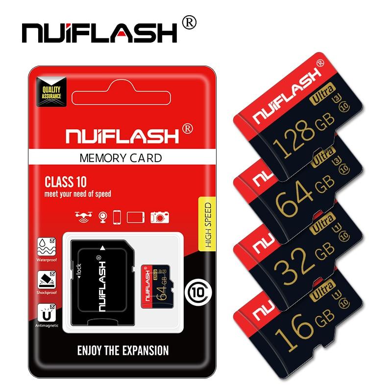 Tarjeta microSD clase 10 para teléfono, miniunidad flash de 16, 32, 64...