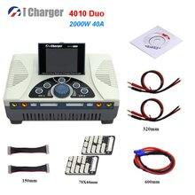 Умное балансирующее зарядное устройство i Charger 4010 DUO 2000 Вт 40 А, зарядное устройство Dis для LiPo Lilo LiFe Battery RC Drone RC Plane
