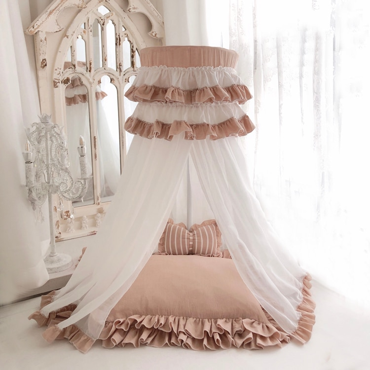 Baby Bedding Dome Tent Newborn Photography Props Baby Bed Princess Prop Posing Poser Fotografia Baby Photo Props For Soft Yarn