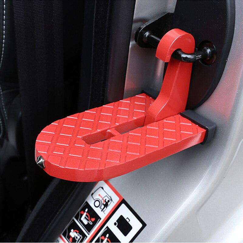 باب السيارة SUV للطي عدم الانزلاق القدم دواسة أداة غسيل تسلق سلم السقف لسيارات BMW X1 X2 F39 X3 F25 X4 X5 E70 X6 X7 اكسسوارات