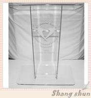 High Quality Customized Acrylic Lectern For Church Pulpit / Acrylic Church Lectern Podium