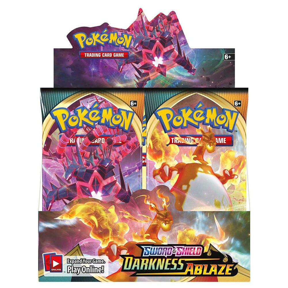 360-pz-nuovo-pokemon-tcg-sword-shield-darkness-ablaze-booster-display-box-36-packs-collection-gioco-di-carte-collezionabili