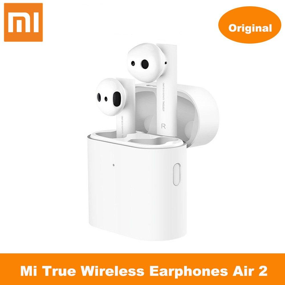 Xiaomi-auriculares Airdots Pro 2 Mi, auriculares realmente sin cables, tecnología TWS, Auriculares Bluetooth Air 2 Control de voz inteligente LHDC con Control táctil y micrófono