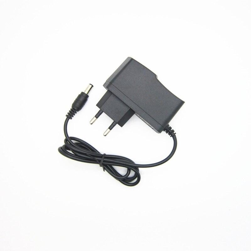 Cargador adaptador de fuente de alimentación CC 6V 1A 1000ma para Monitor de presión arterial esfigmomanómetro tonómetro Omron y UA-668 UA-767F