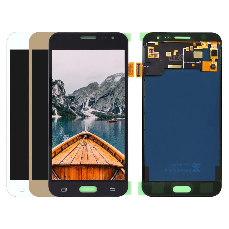 Lcd de 5,0 pulgadas para Samsung Galaxy J3 2016 J320 SM-J320F J320M J320FN pantalla LCD + MONTAJE DE digitalizador de pantalla táctil 100% probado en funcionamiento